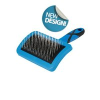 Curved Firm Slicker Brush - Small