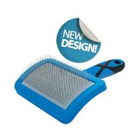 Curved Soft Slicker Brush - Small