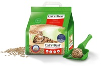 4 x 10L (4.3kg) Cat's Best Original Clumping Litter - Special Offer
