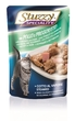 Stuzzy Speciality Pouches Chicken & Ham - 100g